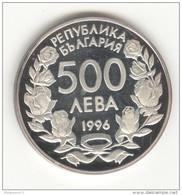 500 Leva Bulgarie 1996 - Coupe Du Monde / World Cup - Belle épreuve / Proof  - Argent / Silver - Bulgaria