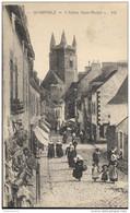 CPA Quimperlé - Eglise Saint Michel - Circulée 1928 - Quimperlé