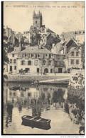 CPA Quimperlé - Haute Ville - Vue Du Pont De L'Ellé - Circulée 1928 - Quimperlé