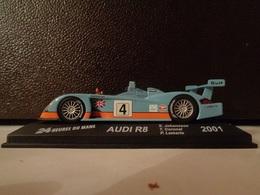 AUDI R8.  24 H Du Mans 2001 . # 4  S.Johansson,T.Coronel,P.Lemarie   1/43 -Altaya - Voitures, Camions, Bus