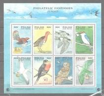 Serie De Palao Nº Yvert A-32/39 **  PÁJAROS (BIRDS) - Palau