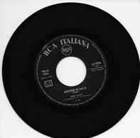 """Gino Paoli 45t. SP ITALIE """"sapore Di Sale"""" - Vinyl Records"""