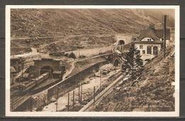 Carte P ( Suisse / Chemin De Fer De Montagne / Göschenen ) - Gares - Avec Trains