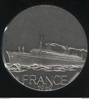 Médaille Paquebot France 1962 - Compagnie Générale Transatlantique - France