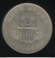 100 Won Corée Du Sud / South Korea 1981 - Korea, South
