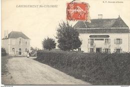 CPA  Labergement Ste Colombe  - Circulé - Autres Communes