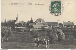 CPA  Labergement Ste Colombe - Vue Générale - Circulé - Autres Communes