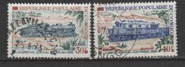 """CONGO ; N°334/335 """" LOCO DU C F C O - Congo - Brazzaville"""