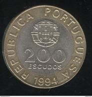 200 Escudos Portugal 1994 - Lisbonne Capitale Européenne De La Culture - Portugal