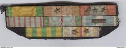 8 Rubans De Campagne - 5 Citation - 1 Palme - Mention Ext.Orient - France
