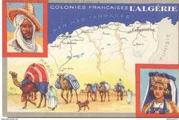 Publicité Le Lion Noir - Les Colonies Françaises - L'Algérie - Autres