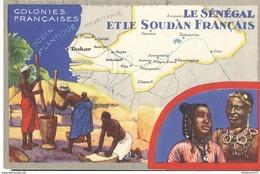 Publicité Le Lion Noir - Les Colonies Françaises - Le Sénégal Et Le Soudan Français - Autres