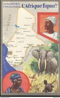 Publicité Le Lion Noir - Les Colonies Françaises - L'Afrique Equatoriale - Autres