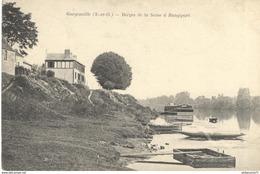 CPA  Gargenville - Berges De La Seine à Rangiport -  Circulée - Gargenville