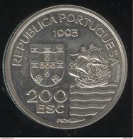 200 Escudos Portugal 1993 - Daïmios De Omura - Portugal