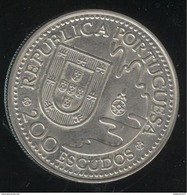 200 Escudos Portugal 1993 - 450 Ans De La Rencontre Portugal / Japon - Portugal