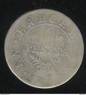 1 Peseta Espagne 1813 Barcelone - [ 1] …-1931 : Royaume