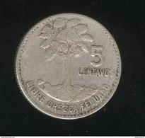 5 Cents Guatemala 1960 - TTB - Guatemala