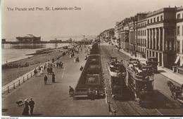 CPA  St Leonards On Sea - The Parade And Pier - Non Circulée - Inghilterra