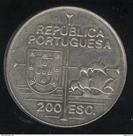 200 Escudos Portugal 1992 - Découverte De Californie - Portugal