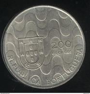 200 Escudos Portugal 1992 - Présidence De L'union Européenne - Portugal