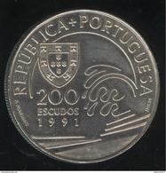 200 Escudos Portugal 1991 - Colomb Et Le Portugal - Portugal