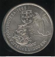 200 Escudos Portugal 1998 - Découverte Du Natal En L'Afrique - Portugal