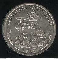 200 Escudos Portugal 1998 - Vasco De Gama - Portugal