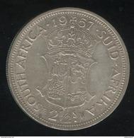 2,5 Shillings  Afrique Du Sud / South Africa 1957 TTB - Afrique Du Sud