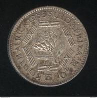 6 Pence Afrique Du Sud / South Africa 1933 TTB - Afrique Du Sud