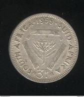 3 Pence Afrique Du Sud / South Africa 1959 TTB - South Africa