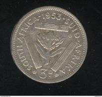 3 Pence Afrique Du Sud / South Africa 1953 TB+ - Afrique Du Sud