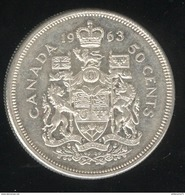 50 Cents Canada 1963 - TTB++ - Canada