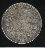 1 Roupie Inde / India 1912 TTB+ - Inde