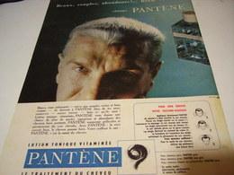 ANCIENNE PUBLICITE BEAUX SOUPLES ABONDANT DE PANTENE 1959 - Other