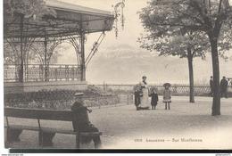 CPA  Lausanne - Sur Montbenon -  Circulé 1910 - VD Waadt