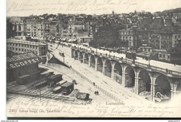 CPA  Lausanne -  Circulé 1904 - VD Waadt
