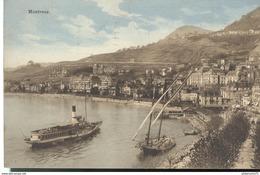 CPA  Montreux - Circulé 1913 - VD Waadt