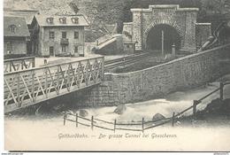 CPA  Gotthardbahn - Der Grosse Tunnel Bei Goeschenen - Non Circulé - Sonstige