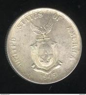 50 Centavos Philippines 1945 TTB+ - Philippines