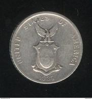10 Centavos Philippines 1937 TTB - Philippines