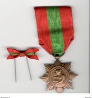 Médaille D'Honneur De La  Famille Française ( Famille Nombreuse Version Bronze ) + Réduction - Militares