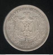1 Perper Montenegro 1912 TTB+ - Ce Pays N'existe Pas Dans Delcampe ??? - Monnaies