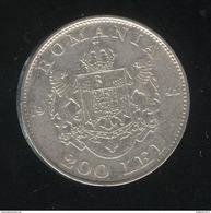 200 Lei Roumanie 1942 - TTB+ - Roumanie