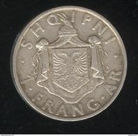 1 Frang Albanie 1935R - TTB - Albania