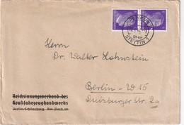 ALLEMAGNE 1942 LETTRE DE PENKUN UBER STETTIN - Deutschland