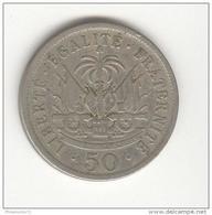 50 Centimes Haiti 1908 - Haïti