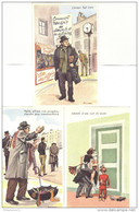 Lot 3 Cartes Humoristiques - Illustrateur Ereirrac ( Carrière ) - Neuves - Carrière, Louis