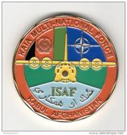 Médaille Commémorative ISAF - Kabul Afghanistan - Très Bon état - Militaria