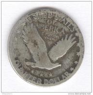 Quarter Etats Unis / United States 1917-1924 - 1916-1930: Standing Liberty (Libertà In Piedi)